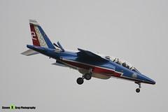 E135 F-TERX 2 - E135 - Patrouille de France - French Air Force - Dassault-Dornier Alpha Jet A - RIAT 2008 Fairford - 070711 - Steven Gray - IMG_7122