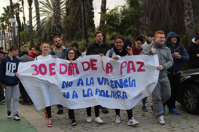 III Marcha Pasos por la Paz 2018
