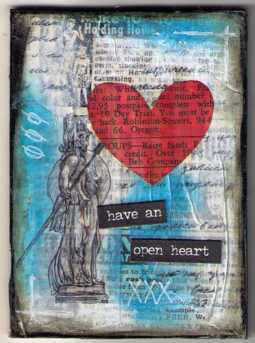 Mixed Media Heart Set 2 1of5
