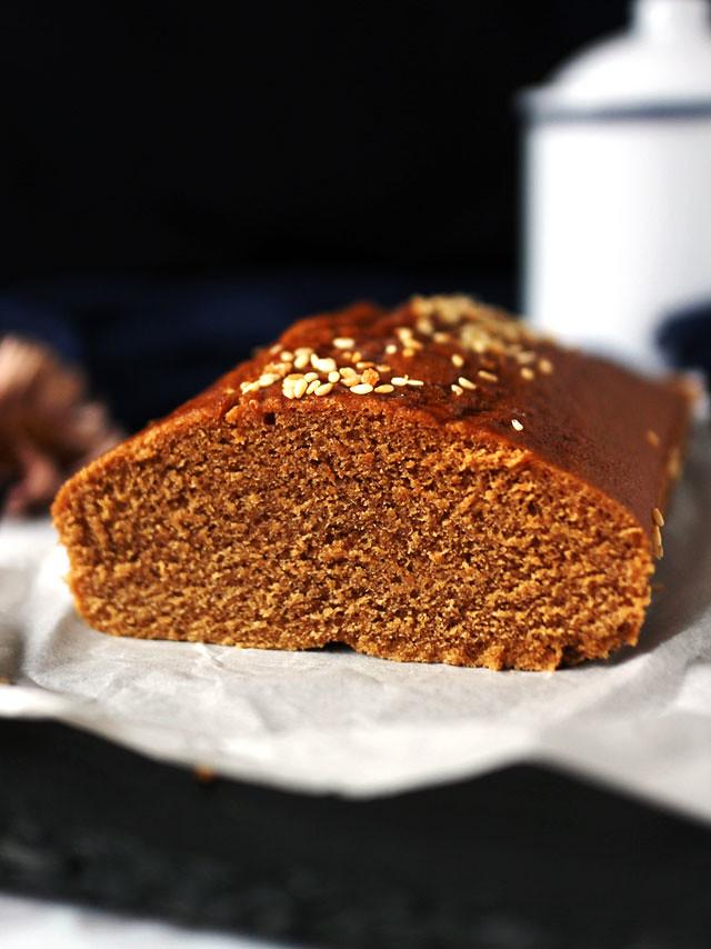 全素無麵粉黑糖糕 vegan-brown-sugar-cake (5)