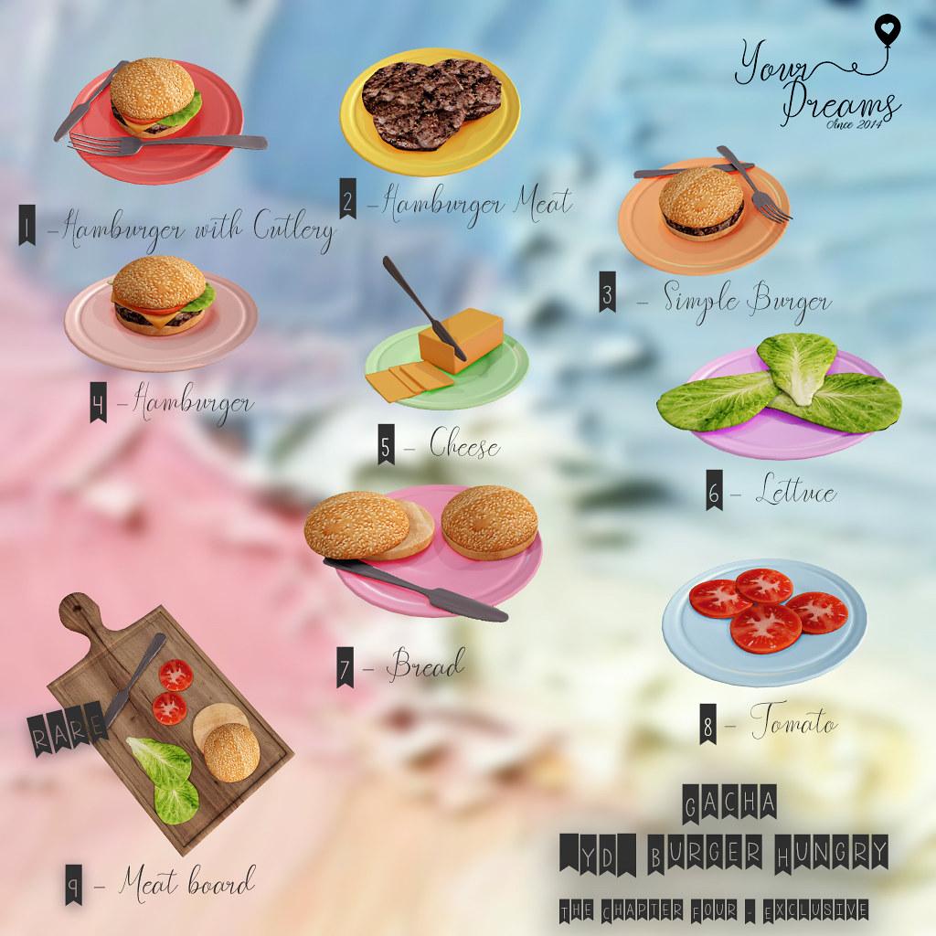 {YD} Burger Hungry - Gacha - TeleportHub.com Live!