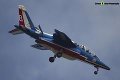 E165 8 F-TERE - E165 - Patrouille de France - French Air Force - Dassault-Dornier Alpha Jet E - RIAT 2013 Fairford - Steven Gray - IMG_9902