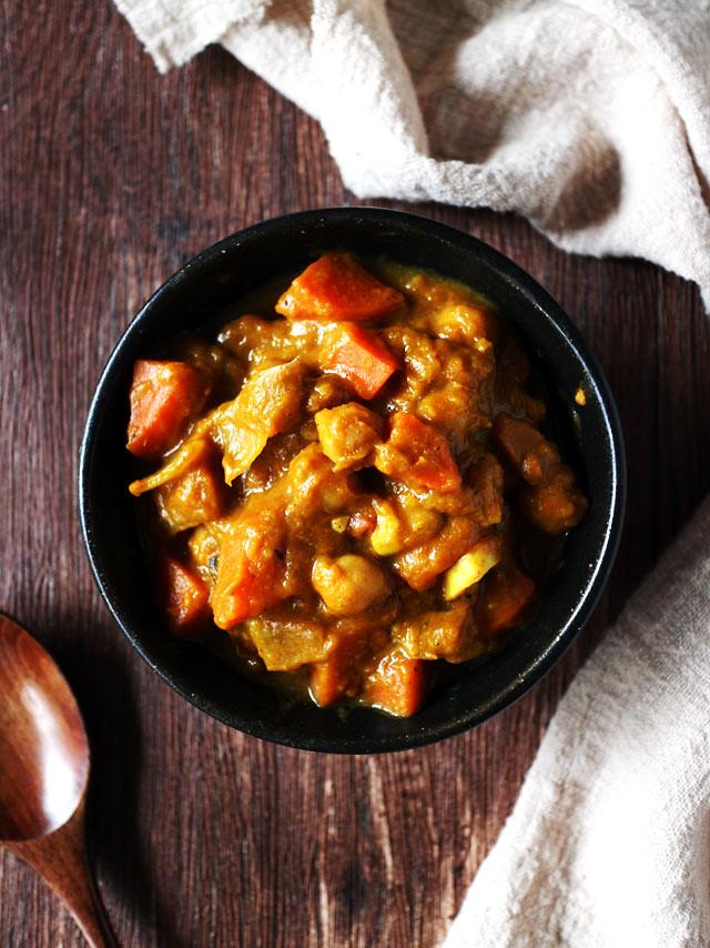 全素鷹嘴豆南瓜咖哩 vegan-chickpea-pumpkin-curry (2)