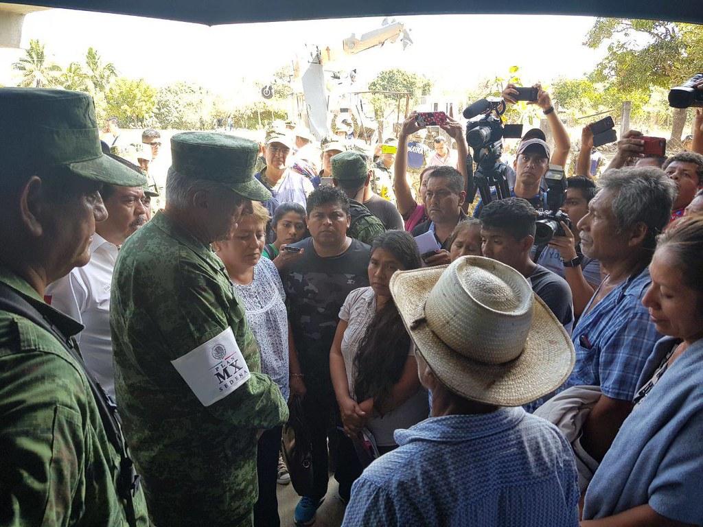 El General Salvador Cienfuegos asume la responsabilidad del accidente en Oaxaca