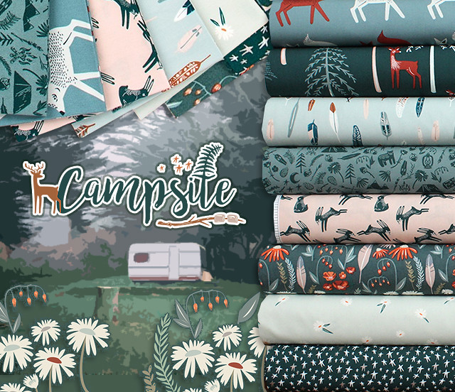 Art Gallery Fabrics Campsite Collection by AGF Studio