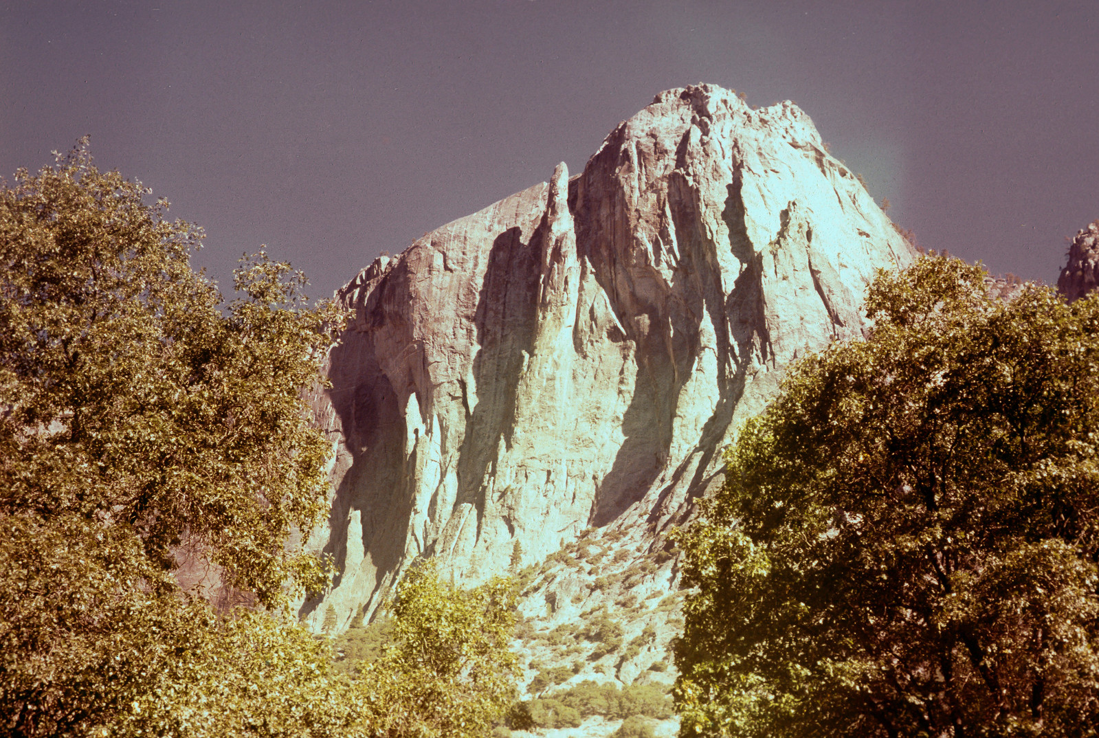 The Lost Arrow Spire from Yosemite Valley