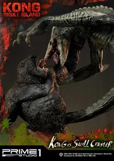 怪獸大對決精彩重現!! Prime 1 Studio《金剛:骷髏島》金剛 VS 骷髏爬行怪 キングコング:髑髏島の巨神 コング VS スカルクローラー UDMKG-01 普通版/豪華版