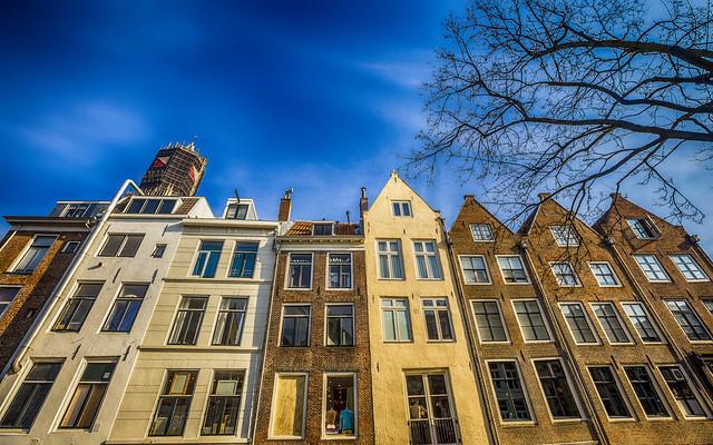 Utrecht, achterkant Lichte Gaard
