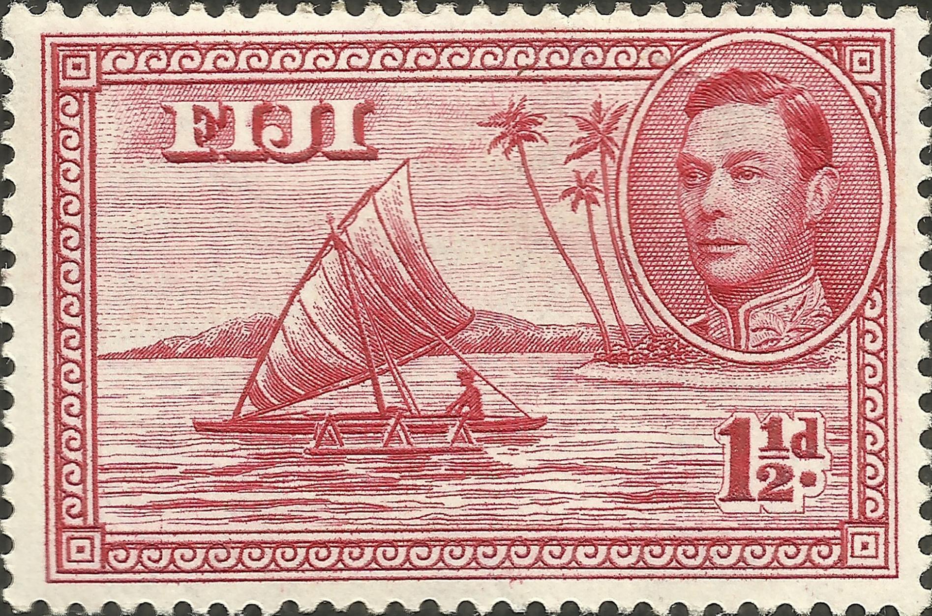 Fiji - Scott #132 (1940)