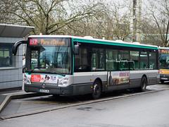 Irisbus Citélis 12 8661 RATP, ligne 197, Massy