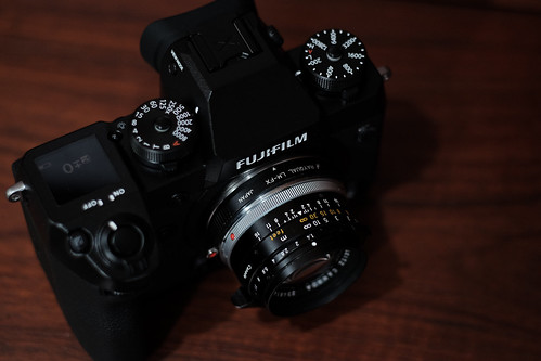 FUJIFILM X-H1 & Summilux 35mm