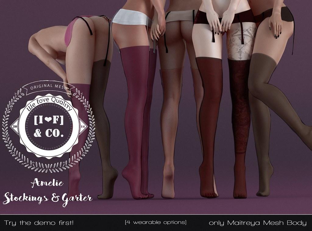 [I<3F] Amelie Stockings - TeleportHub.com Live!