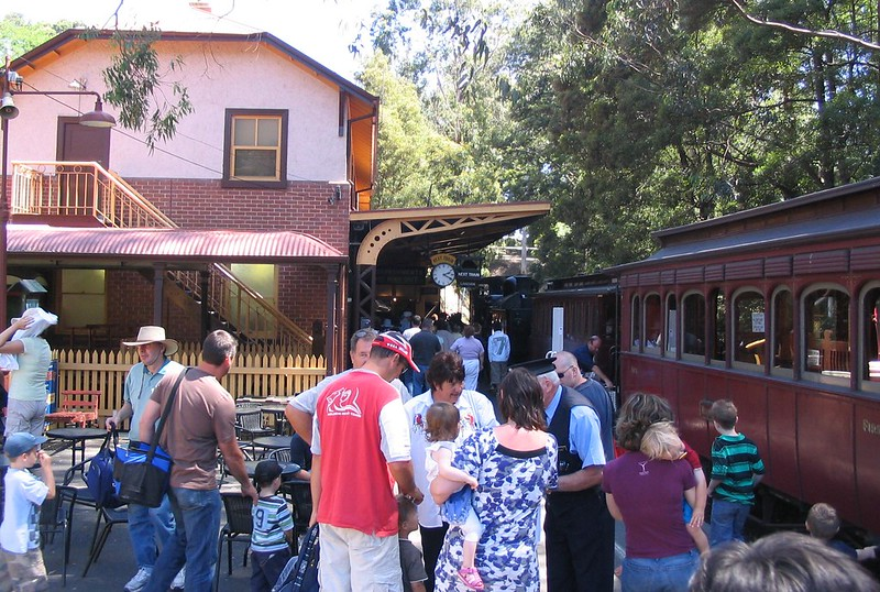 Belgrave站,Puffing Billy,2008年1月