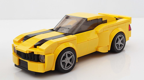 Lego Bumblebee Camaro MOC