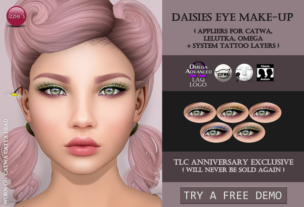Daisies Eye Make-Up Exclusive (@ TLC)