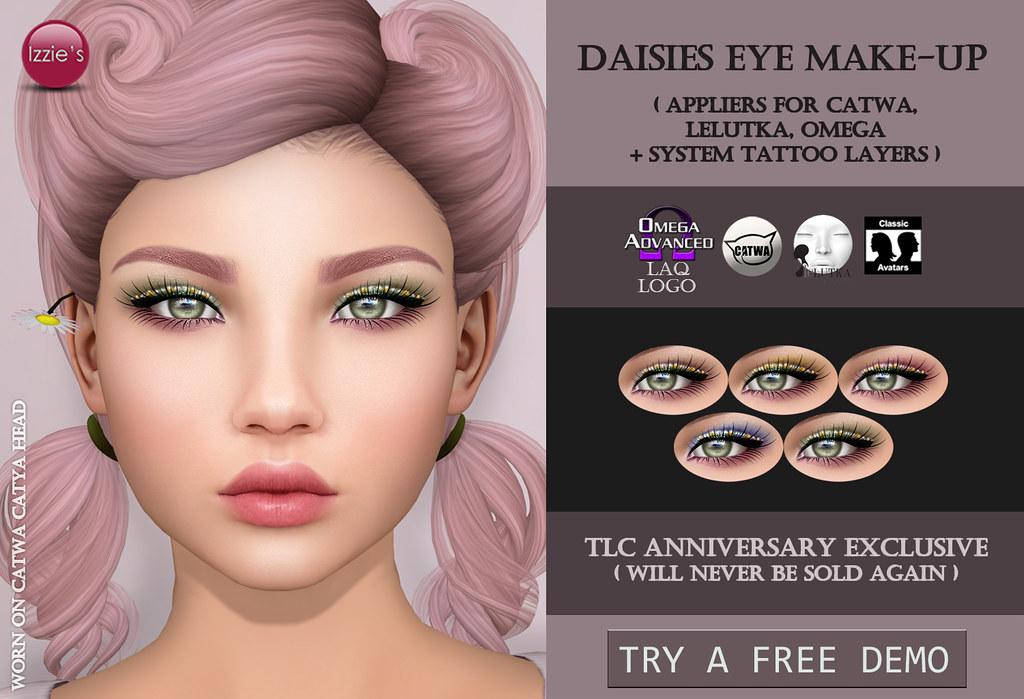 Daisies Eye Make-Up Exclusive (@ TLC) - TeleportHub.com Live!