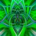 "Spiritual Twirl Art #23  - ""Thistle Weed"" by FotoGrazio"