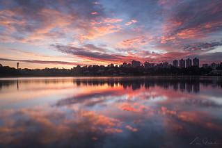 Sunrise in Curitiba