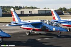 E31 5 F-TERK - E31 - Patrouille de France - French Air Force - Dassault-Dornier Alpha Jet E - RIAT 2010 Fairford - Steven Gray - IMG_7363