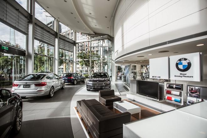 [新聞照片一]BMW總代理汎德公司展示中心