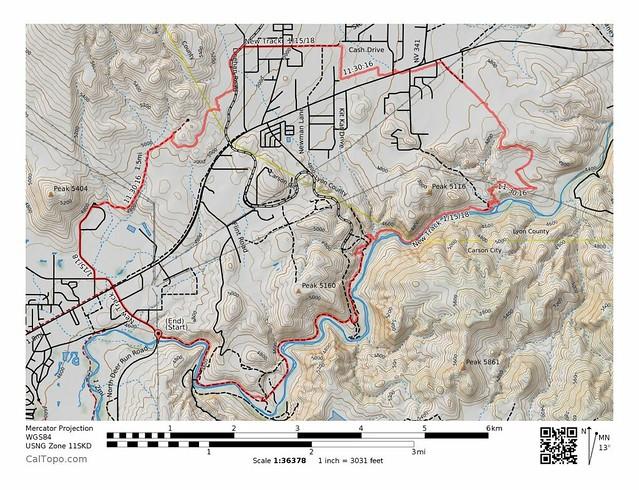 Centennial - Carson River Loop