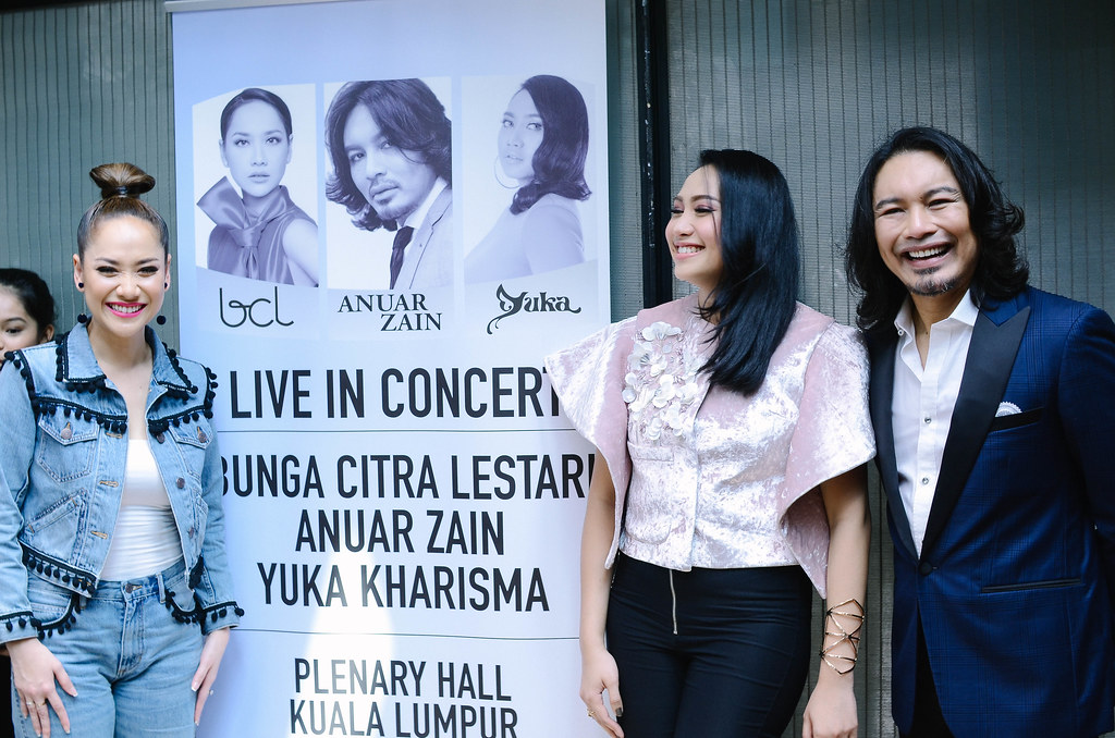 Konsert Anuar Zain, Bunga Citra Lestari & Yuka - Live in Concert