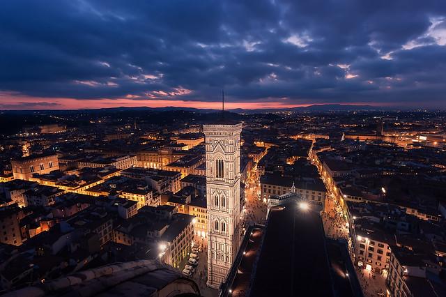 Florencia desde el Duomo....