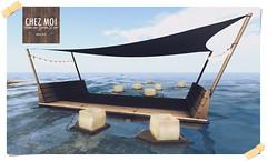 Romantic Raft CHEZ MOI