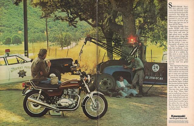 Kawasaki KZ750 1976