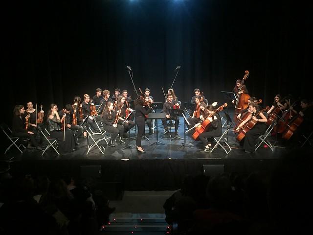 Orquestres, concert 20 de febrer