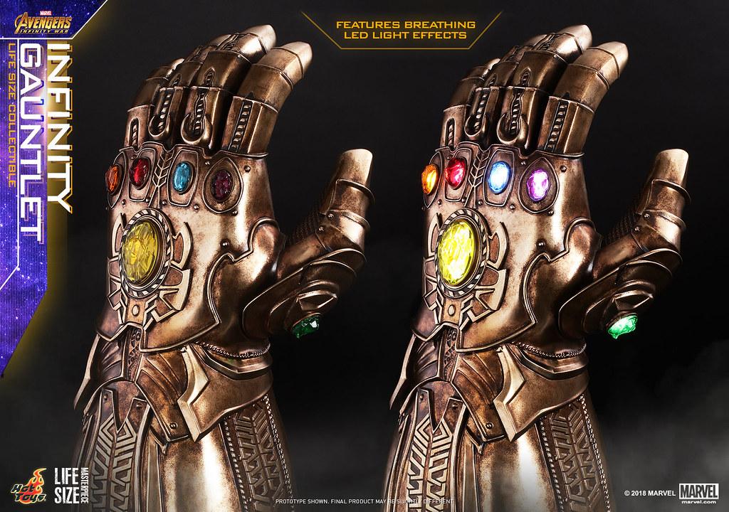 Hot Toys – LMS006- 《復仇者聯盟:無限之戰》1:1 無限手套 Avengers: Infinity War Infinity Gauntlet