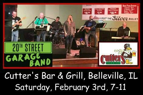 20th Street Garage Band 2-3-18