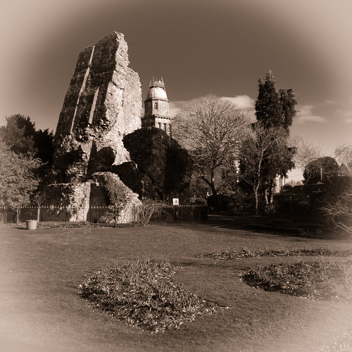 Castle and church, Bridgnorth