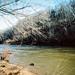Winter day, Rivanna river