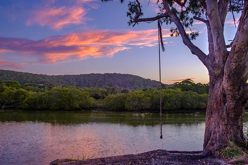 Sunset Over Korogoro Creek