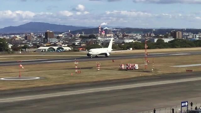 第404飛行隊 KC-767 87-3601離陸風景