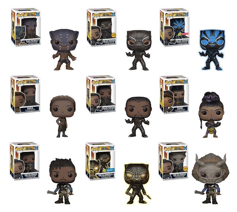Funko Black Panther PopVinyls