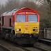 66192(DBS) 6X01 Passes through Willington Station