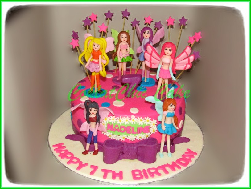 Cake Winx Club NADELINE 18 cm