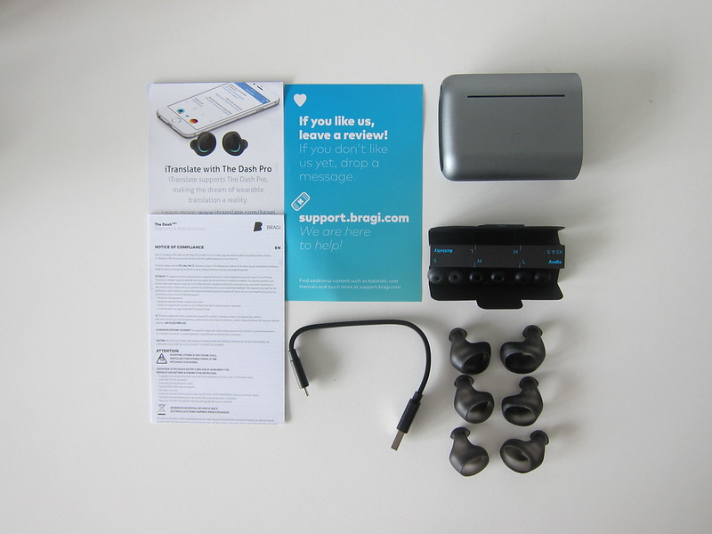 Bragi The Dash Pro - Box Contents