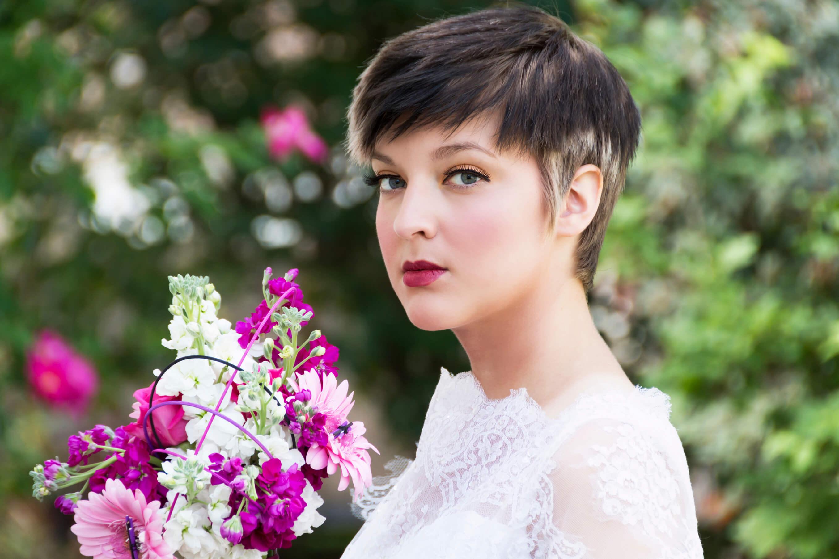 Short Pixie Wedding Hairstyles - Short Pixie 2018 4