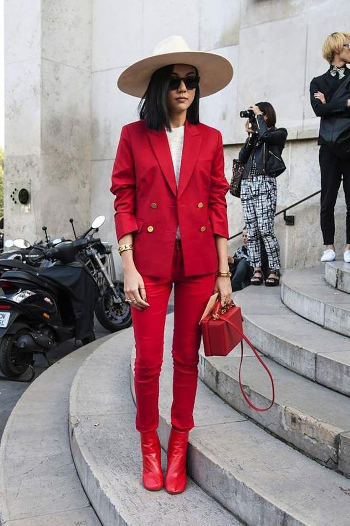 suits street style fashion outft winter 2018 inspiracion looks para ir a trabajar4