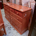 Natural pine 3/2 chest of drawers E110