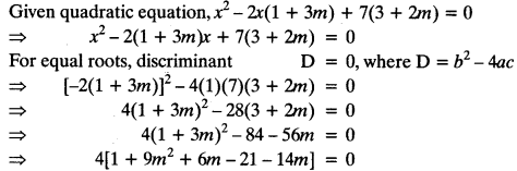 Quadratic Equations Chapter Wise Important Questions Class 10 Mathematics 92