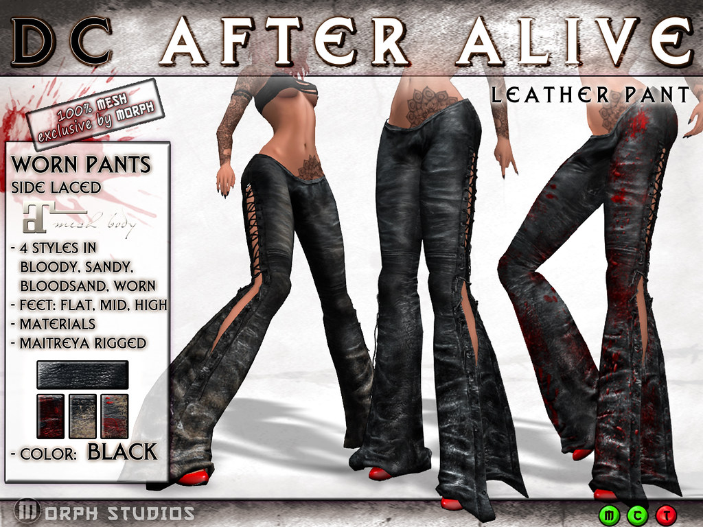0o Morph DC BloodyPants black