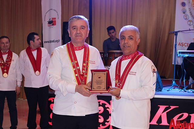 Akdeniz Profesyonel Aşçılar Birliği plaket töreni -5