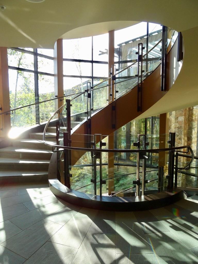 Stairwell at The Allison Inn & Spa