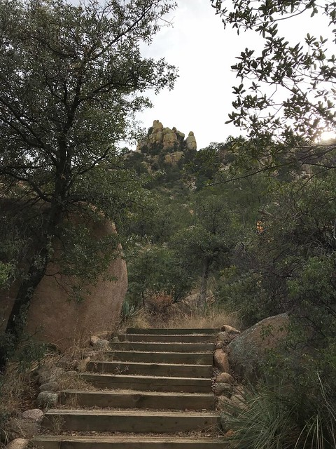 Cochise Stronghold Stairs