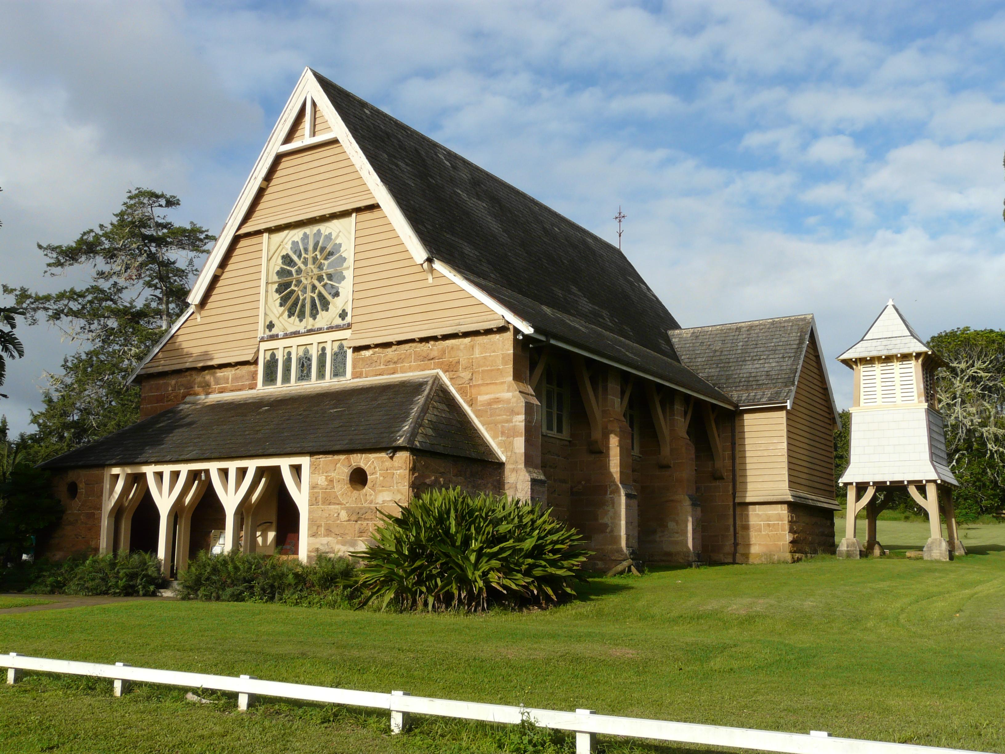 St Barnabas Anglican Church on Norfolk Island. Photo taken on April 21, 2008.