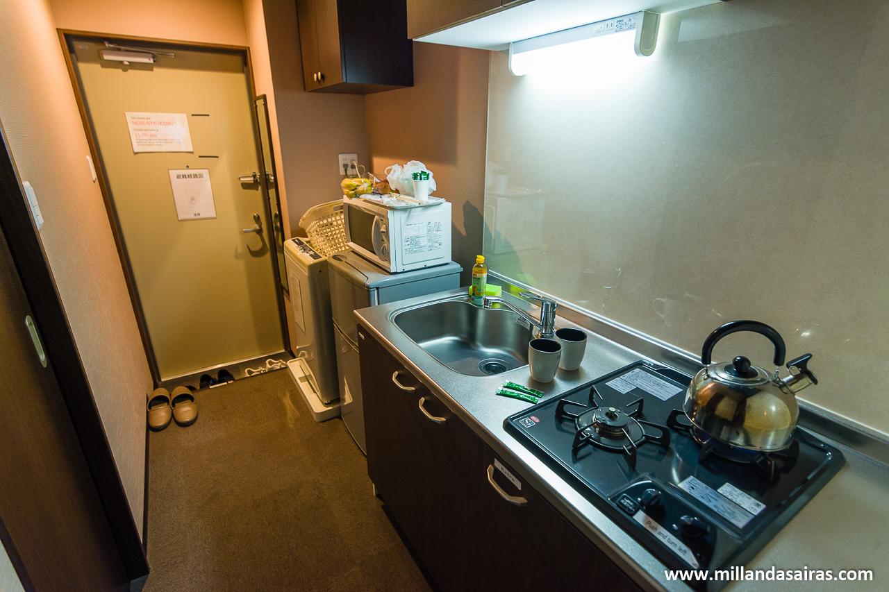 Nuestro apartamento en Kioto